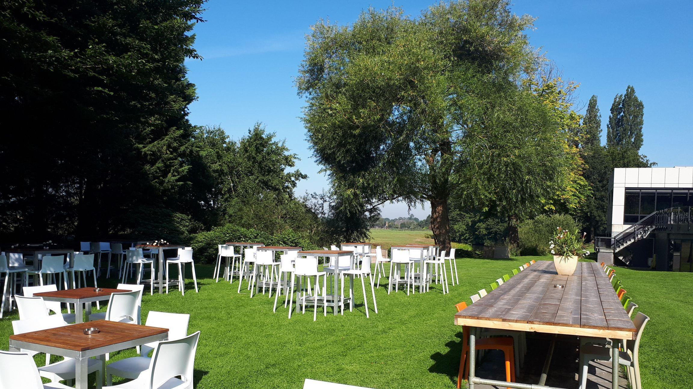 eventlocatie in tuin Ruwenberg den bosch